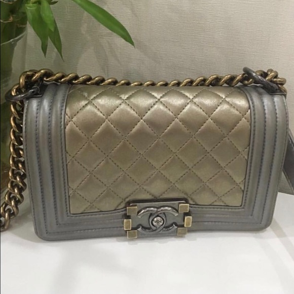 CHANEL Bags   Sold Boy Size Small   Poshmark bbbd2424f6